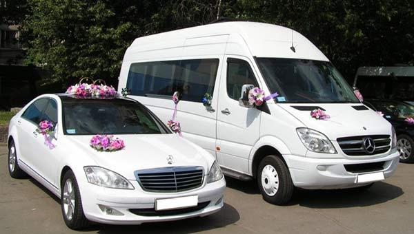Замовлення автобуса чи мікроавтобуса на весілля